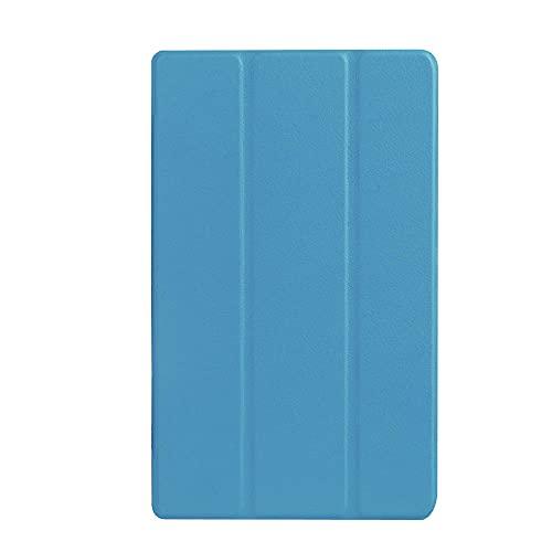 Aplicable ASUS ZENPAD 8.0 Tablet PC Funda de piel Z380KL Funda plegable 8.0 pulgadas azul cielo_ASUS ZENPAD 8.0 Z380KL