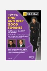 Rich Dad's - How to Find and Keep Good Tenants Audio CD