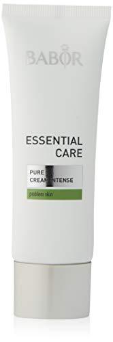 BABOR ESSENTIAL CARE Pure Creme Intense, klärende Anti-Pickel Gesichtspflege, für unreine Haut, erfrischter Teint, vegan, 50 ml