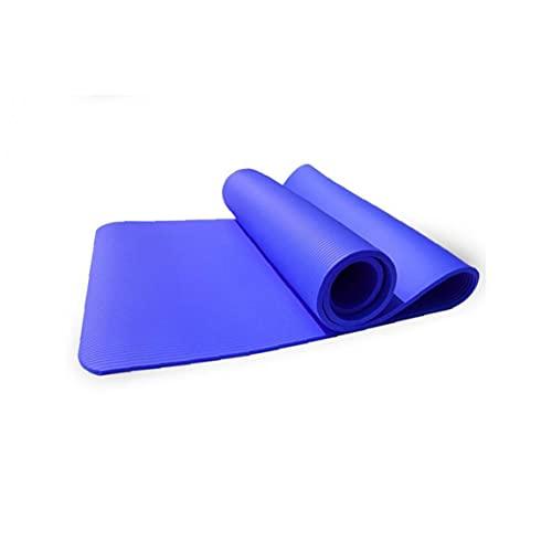 NIDONE 1pc 8mm Stretching Entrenamiento Alfombra Antideslizante Yoga Mat Respetuoso del Medio Ambiente para Hogar Aptitud De La Gimnasia