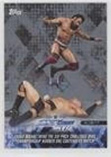 Jinder Mahal Wins The Six-Pack Challenge WWE Championship Number One Contenders Match #18/25 (Trading Card) 2018 Topps WWE Road to Wrestlemania - [Base] - Silver #85