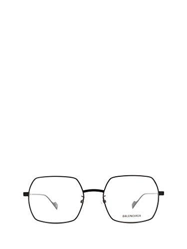 Balenciaga Luxury Fashion Herren BB0090O001 Schwarz Metall Brille   Jahreszeit Permanent
