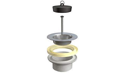 Siphonly® Ablaufventil für Waschbecken | Ablaufstopfen für Waschtische | Waschbeckenstöpsel | 1 1/4