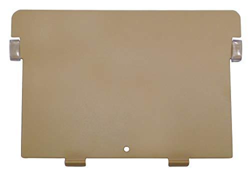 HAN 5, Metall-Stützplatte DIN A5 quer, für HAN Holz-Karteikästen und Karteitröge, braun