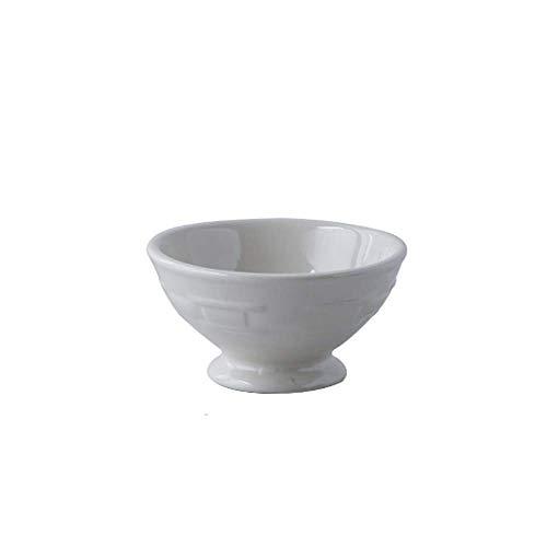 QGL-HQ Faire cuire au four bol en céramique bol flocons d'avoine bol bol de riz à fond plat Bol Bol à thé Plat Bowl Trempette Bowl Pudding Dessert Bowl Bowl Soup Bowl Saladier Enfiler Bowl Art de la t