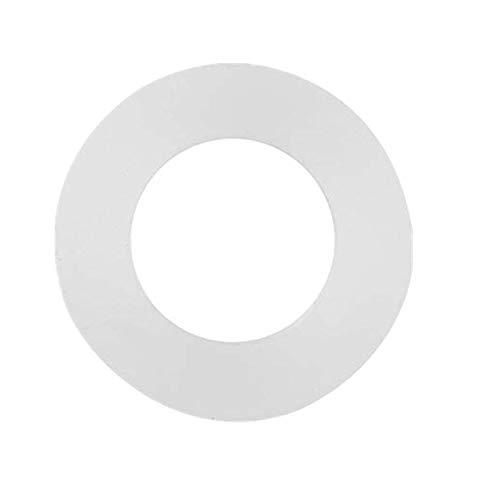 """Broco 12st Flachdichtung weiß Silikon-O-Ring-Dichtscheiben for Bellows Schläuche (1/2"""")"""