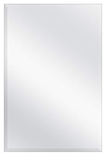MCS Frameless Wall Mirror with 1 inch Bevel, 24x36 -