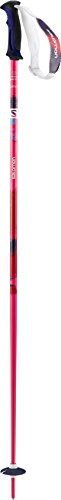 Salomon, 1 Paar Damen Skistöcke, 100 cm Länge, Zweikomponenten-Damengriff, SHIVA, Pink, L37781100