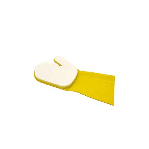 Handschuh Reinigungsmit Schwamm Gloves Swimming Pool Reinigungs Geschirrtücher Lappen Putztücher Fenster Cleaning Supply für die Wasserlinie des Pools