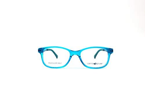 Mitte Style Brille für Kinder 6/8 Jahre F 0129 224 46/16/130 hellblau