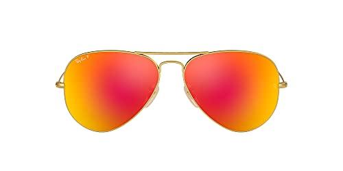 lentes aviador rojos fabricante Ray-Ban