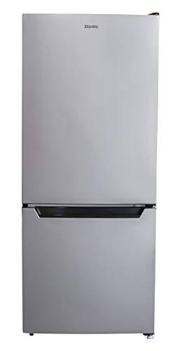 cheap Dumby DCR041C1BSLDB-6 4.1 Cu.Ft. Small refrigerator / freezer and very quiet stainless steel silencer