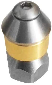 Buisreinigingsmondstuk roterend voor Kärcher Kränzle WAP Alto 1/4