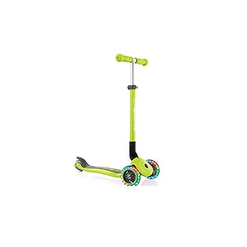 QIXIAOCYB Scooters para niños ilumina Scooter para niñas para niños con rueda intermitente, mango de altura ajustable scooters para niños de 3 a 12 años C (Color : E)