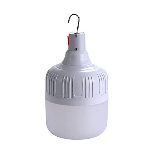 Luces de camping, luces de ahorro de energía para el hogar, con luces de trabajo LED colgantes, luces de camping recargables USB, regulable, al aire libre iluminación portátil Camping/terraza/jard