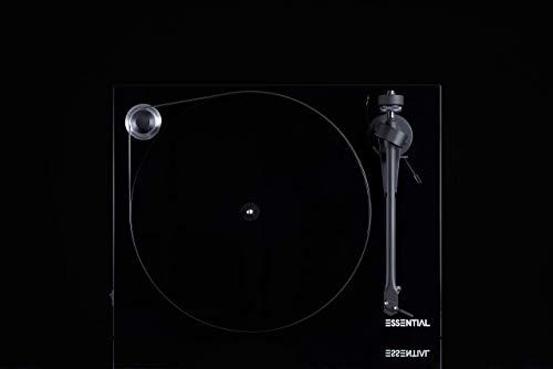 Pro-Ject Essential III Tourne-Disque entraîné par Courroie Noir - Platines (Tourne-Disque...