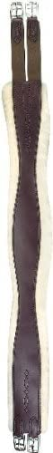Perri's Super Special SALE held Leather Sheepskin Overlay NEW before selling ☆ Girth