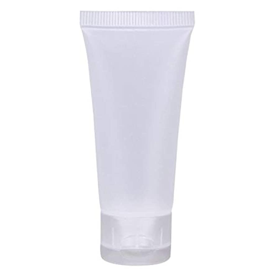 ヘルシー五月方法論Artlalic 10詰め替え可能なチューブマット空の化粧品のボトルキャップトラベルフェイスクリームの容器旅行ローショントナーケース