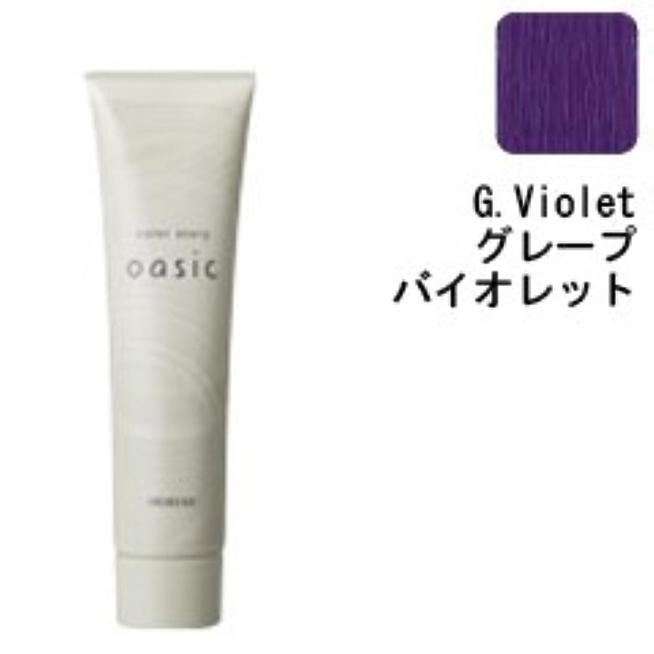ソブリケット主人燃やす【アリミノ】カラーストーリー オアシック G.Violet (グレープバイオレット) 150g