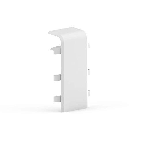 Habengut Verbinder für Sockelleiste 70 mm aus PVC | Inhalt: 2 Stück - für die Verbindung von Sockelleisten