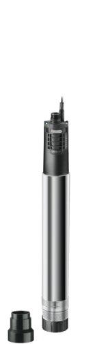 Gardena Premium Tiefbrunnenpumpe 6000/5 inox automatic: Brunnenpumpe mit 6000 l/h Fördermenge aus rostfreiem Edelstahl, automatische Tauchpumpe mit integrierter Trockenlaufsicherung (1499-20)