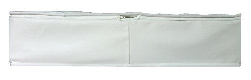 Luxus Lyocell Vital Wasserbetten Auflagen Matratzen Bezug als Rundumbezug (180 x 210 cm)