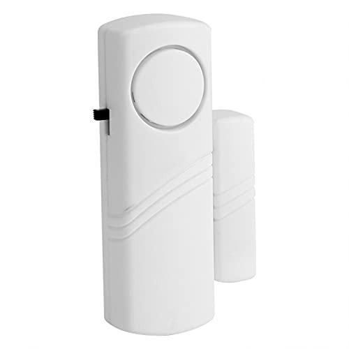 Alarma de Puerta, Interruptor de Sensor magnético Alarma de Ventana Adecuado para Muchas Ocasiones Interruptor de Encendido/Apagado Conveniente para oficinas, Habitaciones de Hotel,