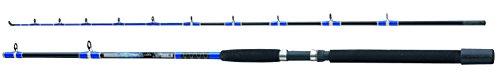 Fladen - Caña de Pesca de lanzado (2 Secciones), Color Blue/Black/Yellow, Talla UK: 2.4m