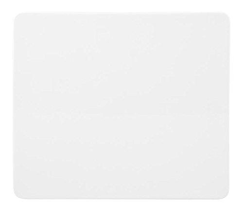 HOTELWARE Plaque Plat Rectangulaire, 23 x 20 cm, Porcelaine, Blanc