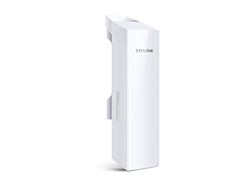 TP-Link Long Range Outdoor Wifi Transmitter – 5GHz, 300Mbps, High Gain Mimo Antenna, 15km+ Point to Point Wireless Transmission, Poe Powered W/ Poe Adapter Included, Wisp Modes (CPE510)