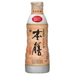 キッコーマン ヒゲタ 高級割烹しょうゆ本膳 450mlペットボトル×12本入×(2ケース)