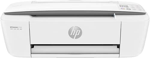 HP DeskJet 3750 T8X12B, Impresora Multifunción A4, Imprime, Escanea y Copia, Wi-Fi, USB 2.0, HP Smart App, Incluye 4 Meses del Servicio Instant Ink, Blanca