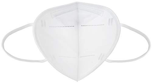Ansuk 100 Stück FFP2 Atemschutzmasken | Partikelfiltermaske |Staubmaske | Schutzmaske | Atemmaske | Mundschutzmaske 5-lagig EU CE Zertifiziert von offizieller Stelle CE2834 – EN 149:2001+A1:2009 (100) - 5