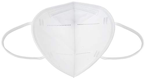 Ansuk 100 Stück FFP2 Atemschutzmasken | Partikelfiltermaske |Staubmaske | Schutzmaske | Atemmaske | Mundschutzmaske 5-lagig EU CE Zertifiziert von offizieller Stelle CE2834 - EN 149:2001+A1:2009 (100) - 5