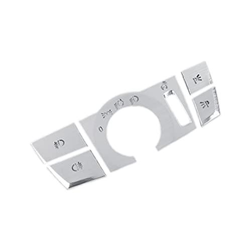 YINYANG swaiwai Ajuste para 5 Series G38 G30 G30 6GT F10 Coche Interruptor de Interruptor de Interruptor de Interruptor de Enchufe Accesorios de Etiqueta engomada para 6 Series G01 x3 x4 F25