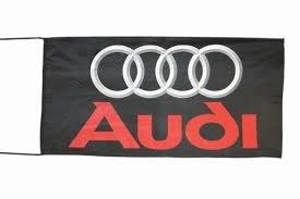 Audi Flagge Banner 5'x 2,5' Serie Sport AWD S4S6S8Q3Q5Q7, V8