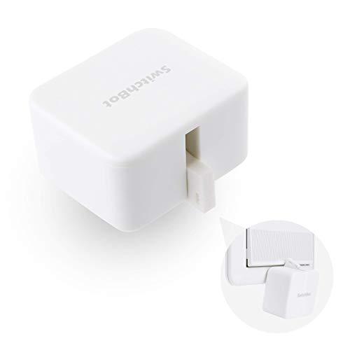 SwitchBot スイッチボット スイッチ ボタンに適用 指ロボット スマートホーム ワイヤレス タイマー スマホで遠隔操作 Alexa, Google Home, Siri, IFTTTなどに対応(ハブ必要)