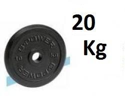 DISCO GHISA NERA DA 20 KG. G-POWER COD.DGN-20