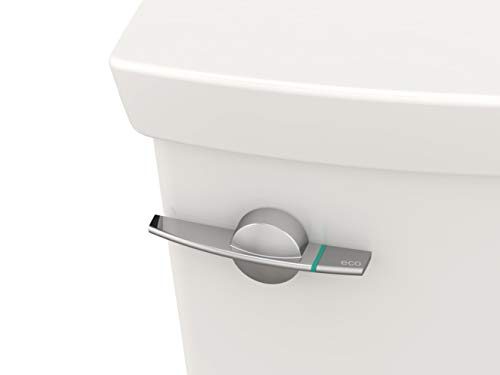 American Standard 4133A204.020 H2Option Dual Flush Toilet Tank-Left Hand Trip Lever, White