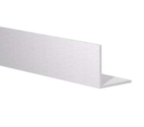"""6 FT - 2"""" x 1/8"""" Aluminum Angle 6063 Alloy T-6 Temper Clear Anodized"""
