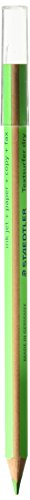 Staedtler Textsurfer Dry Highlighter Pencil 128 64 Drawing for writing Sketching inkjet, paper, Copy, fax (confezione da 4) verde (4 matite)