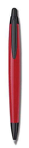 Inoxcrom Zeppelin Sport - Bolígrafo, color rojo