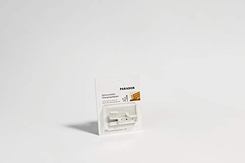 Parador Übergangskappen höhenvariabel für Sockelleisten - weiß - Typ SL 3/5/6/18 - Doppelpack