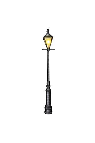 Beistle 57789 Cardstock Jointed Lamppost, 6-Feet