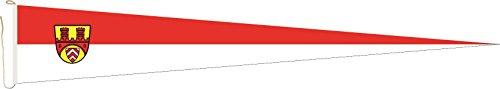 U24 Langwimpel Bielefeld Fahne Flagge Wimpel 150 x 40 cm Premiumqualität