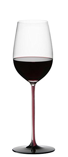 Riedel Sommeliers Series Collector's Edition Riesling Grand Cru Glass, Red/Black by...