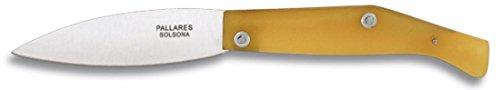 M.ALBAINOX - Navaja pallares nº00 carbono. Hoja:7 cm