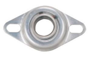 "FHR205-16-4X730 Bearing Flange Pressed Steel 2 Bolt 1"" Ball Bearings"