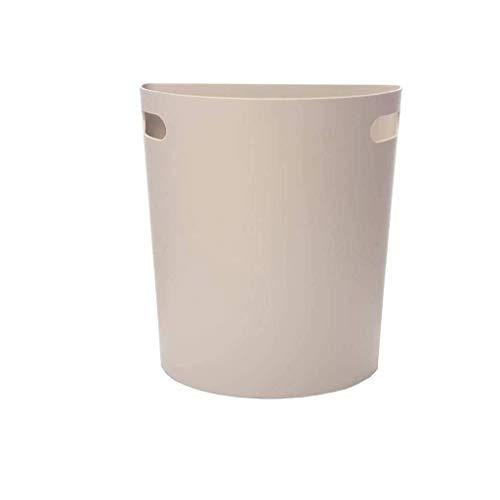 Yppss - Cubo de basura para la cocina, se puede colgar semicircular, moda y práctica papelera eterna