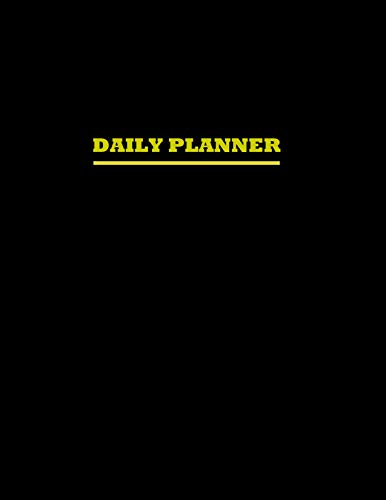 Daily Planner: To Do List Notebook: Elegant Personal and Professional Planner (01 Book 1) (English Edition)